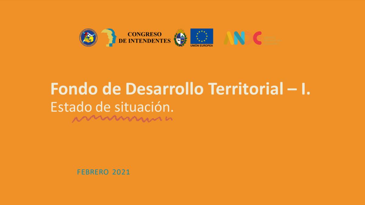 fondo desarrollo territorial febrero